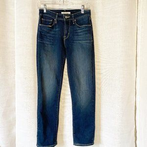LEVI'S MID RISE SKINNY JEANS SIZE 4